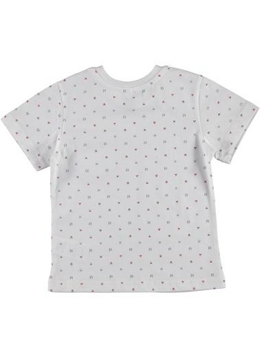 Panço Tişört Beyaz
